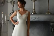 Delicate Chiffon / by Mori Lee by Madeline Gardner