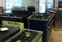Rangecookers.co.uk Display Centre / Range cookers on display here at our Chester studio