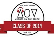Artists on the Verge 2014 / New Music Seminar's Top 100 Artists on the Verge Class of 2014