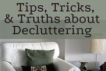 Minimalism & Decluttering. / Inspiration and ideas to get rid of things and make space in my home and life.