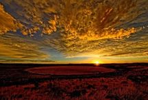 Sunsets etc