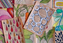 Journal ideas / We use Journals in our Life to document the many things we Love and Do. In a house full of Rainbow Hearted People, it is imperative that our Journals are filled with Beauty, Colour and the elements of just Right for Today.