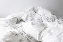 messy beds / unmade, undone, intimate, messy beds - of course :)