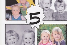 Ideas for the twins' 5th Bday / by Lene Solsvik