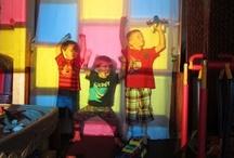 Teach- Light Table/ Overhead Projector/mirrors