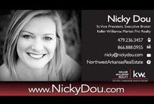 nd | NICKY DOU / Homes for sale OR SOLD in Northwest Arkansas LISTED AND MARKETED BY Nicky Dou | Keller Williams Market Pro Realty / by Nicky Dou