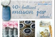 Mason Jars / Why?  Fun silly notion to see how many uses we could find for Mason Jars! / by Dolores Bowen