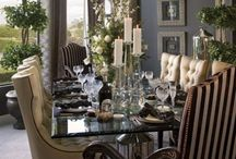 Formal Dining Room / The prepared environment adds much to a great meal!  Collecting formal dining ROOMS. / by Dolores Bowen