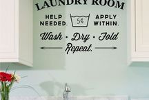 Laundry Room / How can make my laundry room a  room to enjoy?  Begin by pinning! / by Dolores Bowen