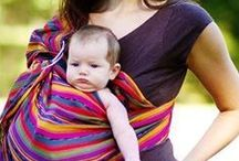 BABYWEARING / Fashionable baby wraps, carriers, and slings that are ergonomically correct for baby and mom (or whomever is wearing them)! / by A Mother's Boutique