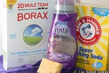 Clean It Up / DIY Cleaning products.   / by Dolores Bowen