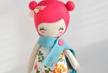 Dolls and Toys / meet your fluffy, uber cute friends..  stuff toys, plushie, dolls, Blythe, figurines, beanbag, cartoon pillows, and some puppets