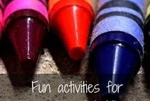 KIDS PLAY & LEARN / Activities and DIY projects to help small children learn and play. / by A Mother's Boutique
