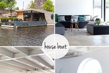 Floating Homes / Collection of homes on the water. / by Dolores Bowen