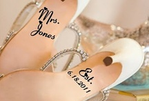 wedding shoe love  / Make a statement with your wedding shoes