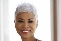 African American Gray Hair