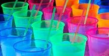 Light Party Ideas / Light Party Activities - alternatives to Halloween