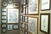 Hugo Guinness Linocut Prints / Cow Parsley