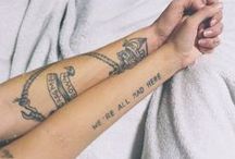 Tat it up and Join the Crowd / Tattoos  / by Ali Donlan