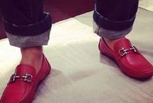 red loafers / by Ali Donlan