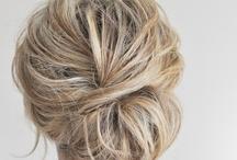 Creative gray hair