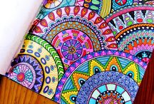 The Joy of Coloring / Coloring is therapeutic and fun! Zentangles, Mandalas, etc. / by Jane