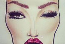 MAC Face Charts / by Charity Jackson ♔