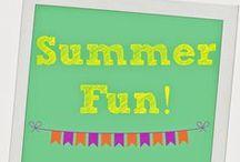 Seasonal Favorites: Summer / #summerfun #summeractivities #summerrecipes #bbq #kidsparties #beachgames #beachtoys #beachbag #summerstyle #kidssummer #summeractivities #campingwithkids #camping #kidsbeach #pooltoys #kidscrafts #DIYsummer #summerentertaining #summerparty / by The Chirping Moms