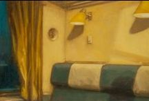Ben Mclaughlin - 'Home & Contents' -New Work  2015 / PAINTINGS BY BEN MCLAUGHLIN Oil on panel, 2015