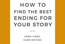 Plotting + Outlining / A major part of the pre-writing phase is the plotting and outlining. Whether you're writing a novel, a movie, a play, or a video game, outlining and plotting are key tools to help ensure your story is well-paced and engaging!