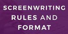 Screenwriting Tips / screenwriting tips | screenwriting prompts | screenwriting format | screenplay ideas | screenplay tips | script tips | write format script | format script | script format