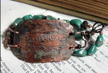 Working in my Studio... holly westfall: art jewelry / Handmade artisan jewelry by Holly Westfall