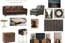 DECOR: Masculine Living Room