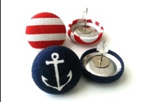 "All ""decked"" out! / Always look ready for a day on the boat with these nautical inspired looks and accessories!"