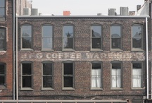 Leftover signs on buildings / by Dave Hamrin