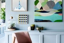pastel decor / pretty pastels. The whole Scandinavian grayed out pastel trend started this board and it grew into other pastels, just cos I like them. / by Norine Luker