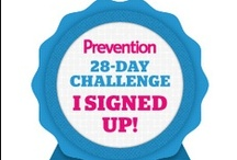 #28FitDays / You're only 4 weeks away from a clearer mind, cleaner diet, and a toned, fit body with #28FitDays. Are you up for the challenge? Sign up for the free daily email, follow along with an easy app, and get the support you need from your trainer, fitness expert Chris Freytag and your cheerleader, ultimate glow-girl Kris Carr. Sign up at http://www.prevention.com/28daychallenge. You can start any time! / by Prevention Magazine