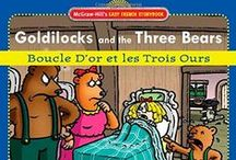 Goldilocks and the Three Bears - Mpressarias / Inspiration for Language Immersion Camp Programs in Early Childhood - if you want to teach foreign languages to young children all you have to do is engage their imagination! www.analomba.com / by Ana Lomba Early Languages LLC