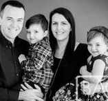 Family Studio Photography / Indoor studio photography for families.