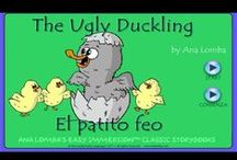 The Ugly Duckling - Magic Worlds / Magic Worlds: Stories, lesson plans, and games to teach foreign languages to young children. www.analomba.com