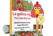 Preschool Spanish Activities and Lesson Plans / Games, songs, activities, and curriculum to teach Spanish immersion