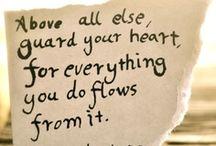 Words of Wisdom. / by Lindsey Lockett