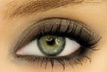 Make-up x green eyes - yeux verts - zöld szemek