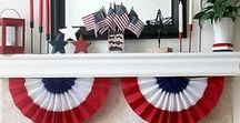 HOLIDAY: July 4th / Fireworks, red, white and blue, food, crafts and decor to help celebrate our country's birthday!