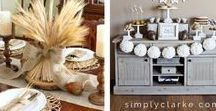 HOLIDAY: Thanksgiving / Everything you need to have the best Thanksgiving ever.  Recipes, crafts, decorating and tips to getting the biggest meal of the year ready for your family!
