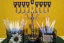 Chanukah Oh Hanukkah Decor / Great DIY ideas for gifts and decor for Chanukah (or is it Hanukkah?)