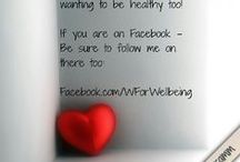 Follow my Blog's Pinterest Boards!  / Go to http://pinterest.com/wforwellbeing/ & click follow! / by Claire Isabel
