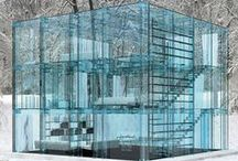 Glass Houses / We never get tired of looking through them.