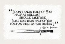 LOTR/The Hobbit / Even mor geekiness :)
