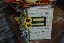 Thanksgiving Projects / decor, handmade gifts, autumn porch plants